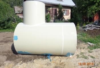 Подземные емкости для топлива